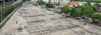 Estructuras para parkings fotovoltaicos