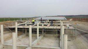Proyecto de bombeo solar realizado por Gamo con estructura de Praxia.