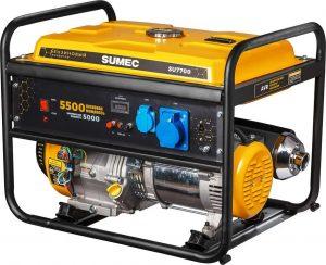 Generador eléctrico alimentado por diésel.