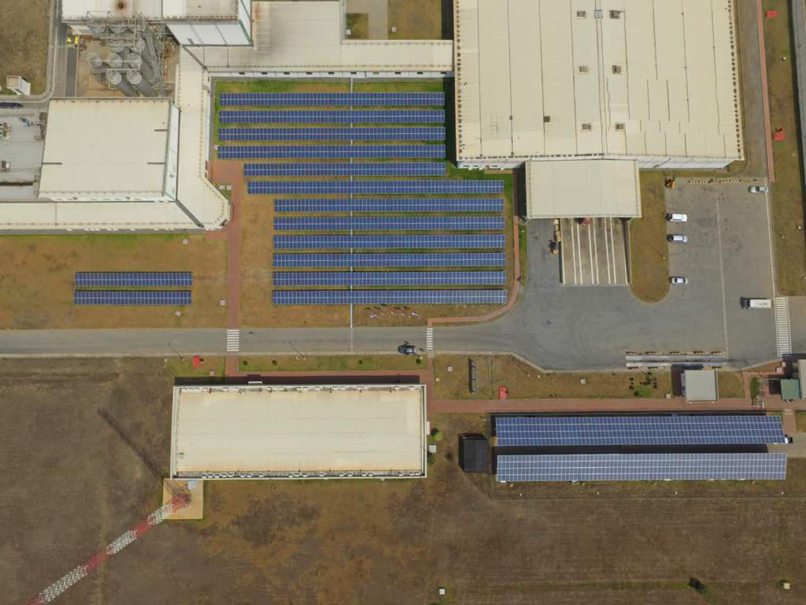 Estructuras fotovoltaicas de suelo