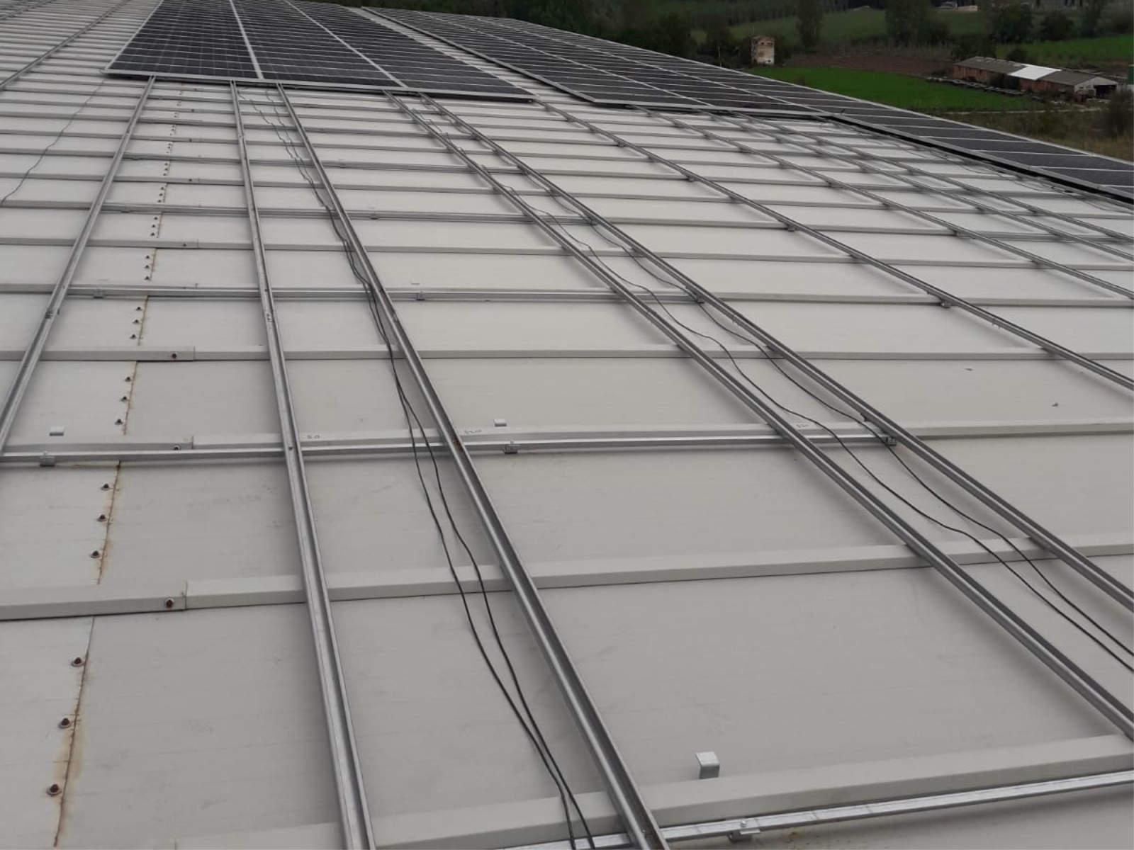 Estructura coplanar fotovoltaica