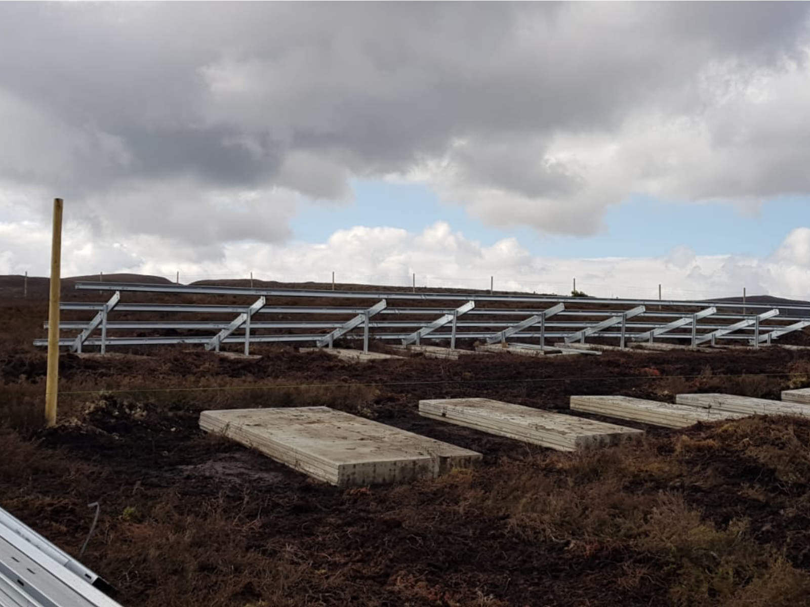 Estructuras fotovoltaicas