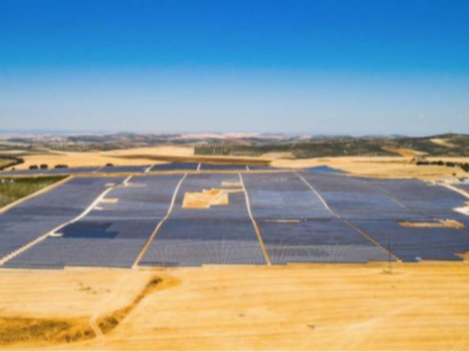 Estructura fotovoltaica de suelo
