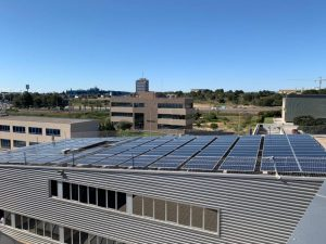Adhesivo para fijar estructuras fotovoltaicas